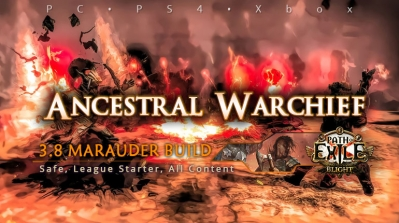 [Mauarder] PoE 3.8 Ancestral Warchief Berserker All Content Build